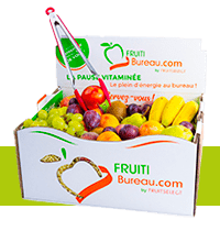 Panier fruits bureau entreprise